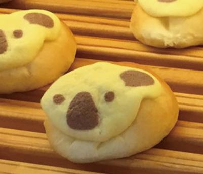 コアラのミニチョコメロンパン みさとのパン工房SAKURA