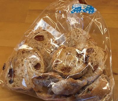 くるみ&ぶどうラスク みさとのパン工房SAKURA